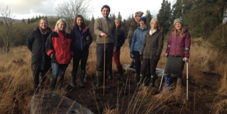 Eco/art/scot/land blogpost: Engaging with peatland restoration – Embedded Art practices within Landscape Partnerships