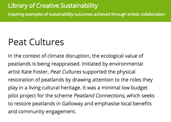 A Library of Creative Sustainability.